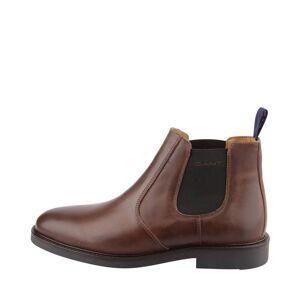 Gant Spencer chelsea boots i skinn , Mörkbrun, 40