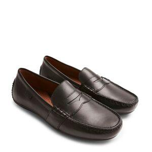 Polo Ralph Lauren Reynold loafers i skinn, Svart, 42