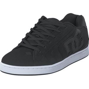 DC Shoes Net Se Black/Black/Grey, Skor, Sneakers & Sportskor, Sneakers, Svart, Herr, 43