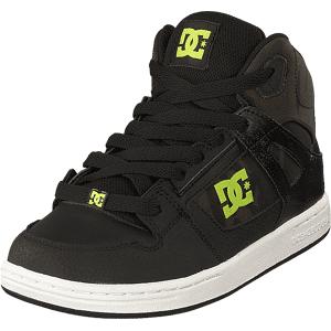 DC Shoes Pure High-top Se Black/camo, Skor, Sneakers & Sportskor, Höga sneakers, Svart, Barn, 28