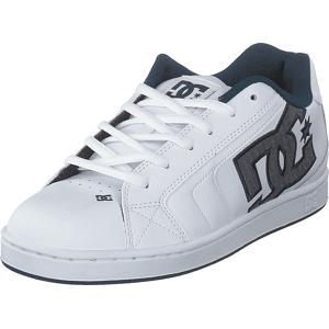 DC Shoes Net Se White/white/battleship, Skor, Sneakers & Sportskor, Låga sneakers, Vit, Herr, 40