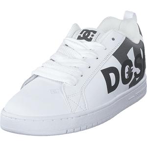 DC Shoes Court Graffik Se White/cement, Skor, Sneakers & Sportskor, Låga sneakers, Vit, Herr, 41