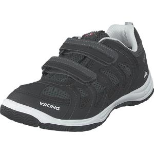 Viking Cascade Ii Black/grey, Skor, Sneakers & Sportskor, Sneakers, Grå, Svart, Barn, 29