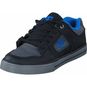 DC Shoes Pure SE Black/Grey/Blue, Skor, Sneakers & Sportskor, Låga sneakers, Blå, Svart, Barn, 27
