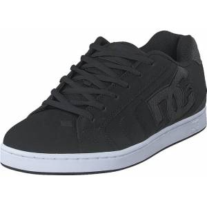 DC Shoes Net Se Black/Black/Grey, Skor, Sneakers & Sportskor, Låga sneakers, Grå, Herr, 39