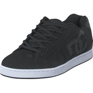 DC Shoes Net Se Black/Black/Grey, Skor, Sneakers & Sportskor, Låga sneakers, Grå, Herr, 43