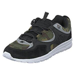 DC Shoes Kalis Lite Se Black/camo Print, Shoes, svart, EU 44