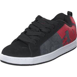DC Shoes Court Graffik Se Black/red, Skor, Sneakers & Sportskor, Låga sneakers, Grå, Rosa, Herr, 41