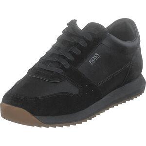 Boss Green - Hugo Boss Sonic_runn_ltsd Black, Skor, Sneakers & Sportskor, Sneakers, Svart, Herr, 41