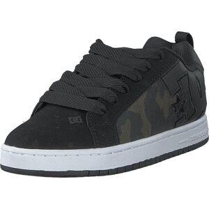 DC Shoes Court Graffik Se Grey/white/grey, Skor, Sneakers & Sportskor, Låga sneakers, Svart, Herr, 40