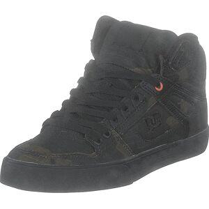 DC Shoes Pure High-top Wc Tx Se Camo/russet Orange, Skor, Sneakers & Sportskor, Höga sneakers, Svart, Herr, 42