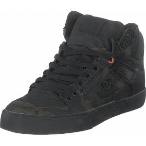 DC Shoes Pure High-top Wc Tx Se Camo/russet Orange, Skor, Sneakers & Sportskor, Höga sneakers, Svart, Herr, 45