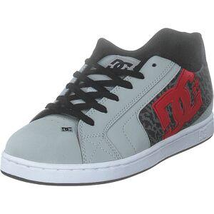 DC Shoes Net Se Grey/red/white, Skor, Sneakers & Sportskor, Sneakers, Grå, Herr, 39