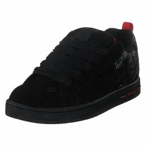 DC Shoes Court Graffik Se Camo, Herr, Shoes, svart, EU 53,5