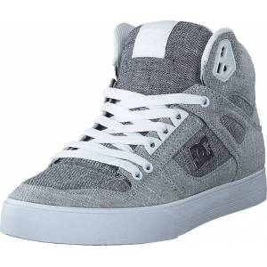 DC Shoes Pure High-top  Wc Tx Se Grey/grey/white, Skor, Sneakers och Träningsskor, Höga sneakers, Blå, Grå, Herr, 45