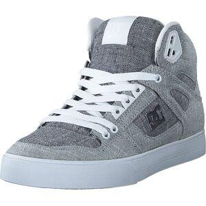 DC Shoes Pure High-top  Wc Tx Se Grey/grey/white, Skor, Sneakers och Träningsskor, Höga sneakers, Blå, Grå, Herr, 46