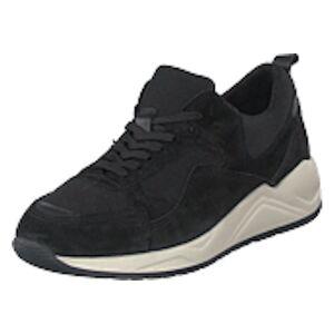 Bianco Biadakota Suede Sneaker 101 Black, Shoes, svart, EU 43