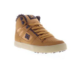 DC Pure HT WC SE mens Brown nubuck Lace upp Athletic skate skor