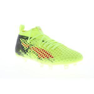 Puma Future 18,2 Netfit FG AG mens grön Athletic Soccer cleats skor
