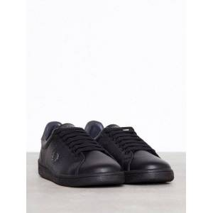Fred Perry Parkside leather Sneakers & textilskor Black