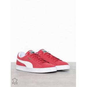 Puma Suede Classic Trainer Sneakers Röd/Vit
