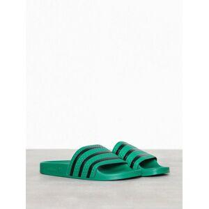 Adidas Originals Adilette Sandaler & flip flops Grön