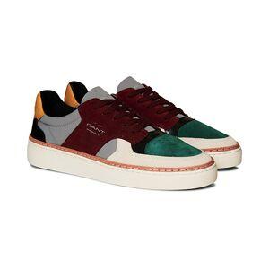 GANT Mc Julien Sneaker Green/Slate Grey/Wine Red