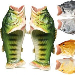 Fisksandaler - Grön, 32/33