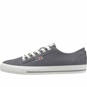 Helly Hansen Men's Fjord Breathable Canvas Shoe V2   Hh Se 40 Grey