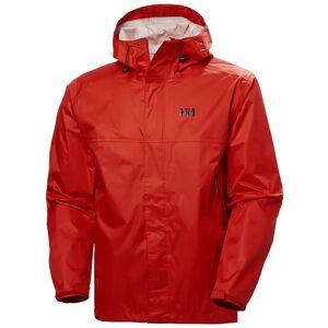 Helly Hansen Men's Loke Waterproof Hooded Jacket   Hh Se M Red