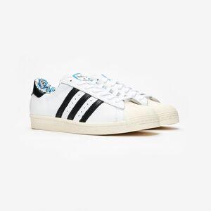 Adidas Superstar 80s x Have a Good Time för män i vitt 44 White