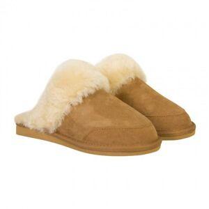 New Zealand Boots Hjemmesko/slippers I Lammeskind/lammeuld, Cognac Farvet, New Zealand Boots