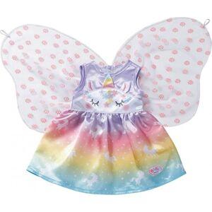 Baby Born - Tøj Til Dukke - Enhjørning Fe-dukkekjole