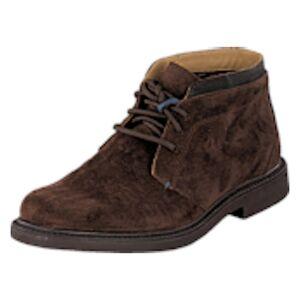 Sebago Turner Chukka DK Brown SDE/LEA, Shoes, brun, EU 44