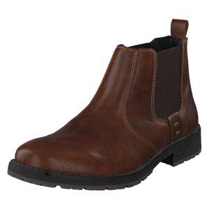 Rieker 33353-25 Marron, Herre, Sko, Chelsea boots, Brun, EU 43