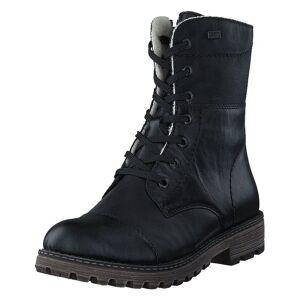 Rieker Y6723-00 00 Black, Dame, Sko, Boots, Sort, EU 42