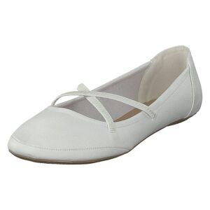 Duffy 92-34999 White, Sko, Ballerina sko, Grå, EU 28
