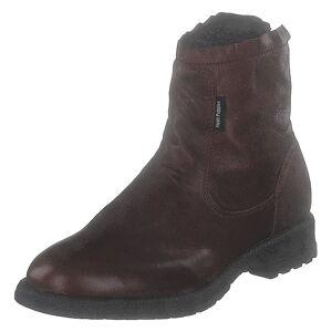 Hush Puppies Zip Boot Dk Brown, Herre, Shoes, brun, EU 44