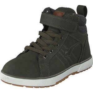 Bagheera Barrow Dark Green/dark Grey, Sko, Boots, Vandrestøvler, Grøn, Børn, 29