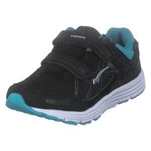 Bagheera Pico Black/turquoise, Børn, Shoes, sort, EU 33