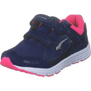 Bagheera Pico Dark Violet/pink, Sko, Sneakers og Træningssko, Løbesko, Blå, Børn, 24