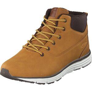 Bagheera Kodiak Dark Yellow/dark Brown, Sko, Boots, Kraftige støvler, Brun, Unisex, 39