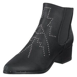 Duffy 97-00822 Black, Dame, Sko, Ankelstøvler, Sort, EU 37