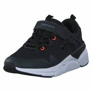 Bagheera Vision Jr Black/orange, Børn, Shoes, sort, EU 33