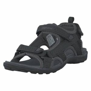 Bagheera Onyx Jr Black/dark Grey, Børn, Shoes, sort, EU 30