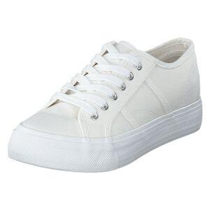 Duffy 92-00204 White, Dame, Sko, Sneakers, Hvid, EU 38