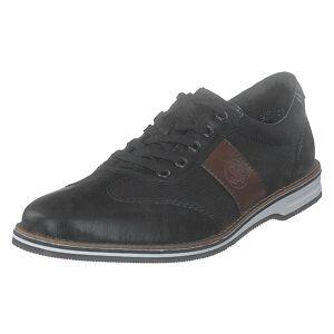 Rieker 12523-00 Black, Herre, Sko, Sneakers, Sort, EU 41