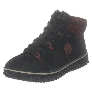 Rieker Z4219-00 Black, Dame, Sko, Boots, Sort, EU 36