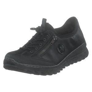 Rieker M6269-02 Black, Dame, Sko, Sneakers, Sort, EU 39