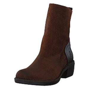 Fly London Moba032fly Oil Suede/rug Camel/dk Brown, Shoes, brun, EU 39